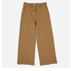 NWOT Everlane Wide Leg Crop Pant